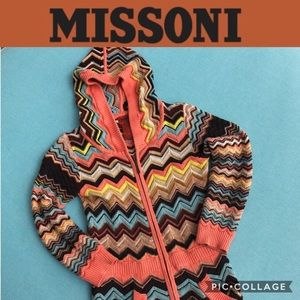 Missoni girls sweater hoodie